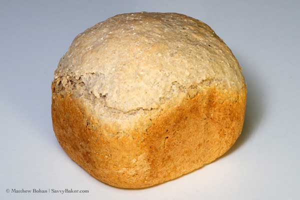Whole Grain Sourdough Bread with Barley