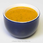 Simple, Beautiful Butternut Squash Soup
