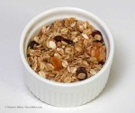 Fast and Fruity Walnut Granola