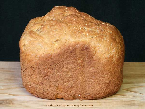 Irish Brown Bread, Bread Machine Loaf