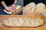 Oatmeal Sourdough French Bread Series