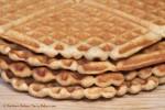 Peanut Butter Oat Waffles