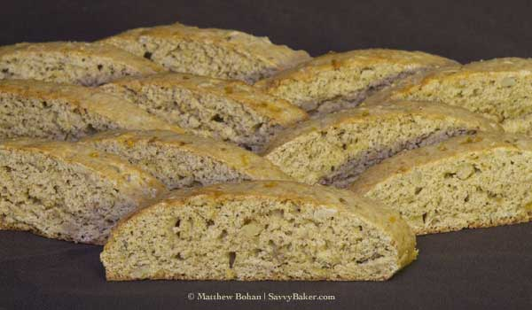Banana Nut Biscotti (Close-up)