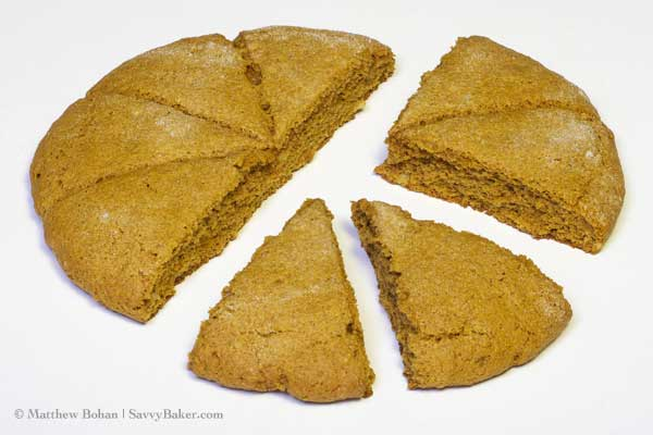 Gingerbread Nut Scones