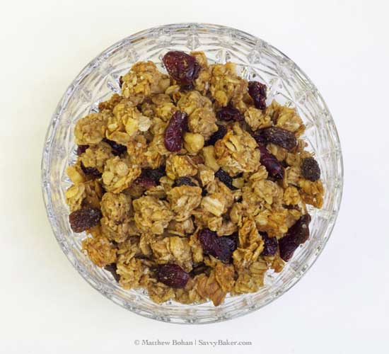 Peanut Butter Granola Surprise