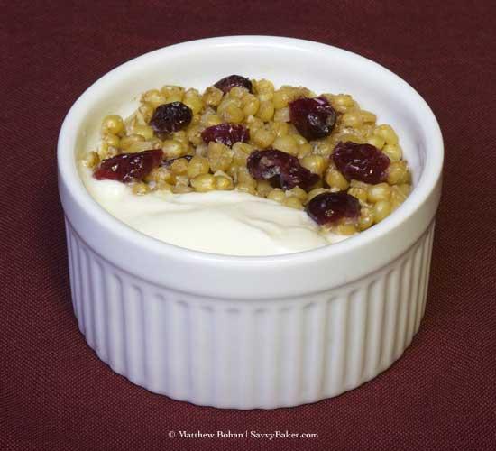 Wheat Berry Breakfast