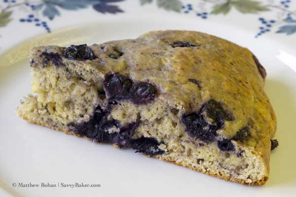 Frozen Blueberry Scones