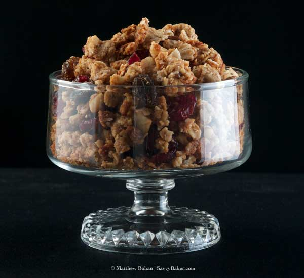 Peanut Butter and Banana Honey Granola
