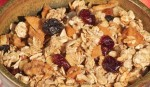 Apple Cider Granola (close-up)