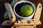 Zesty Lime Biscotti (close-up)