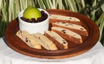 Zesty Lime Biscotti (plate)