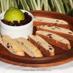 Zesty Cranberry Lime Biscotti