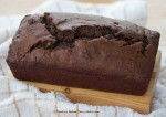 Devilishly-Dark Chocolate Tea Bread (top)