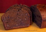 Devilishly-Dark Chocolate Tea Bread (sliced)