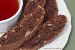 Chocolate Walnut Brownie Biscotti (close up)