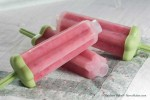 Strawberry Banana Ice Pops