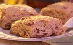Orange Cream Scones (Close-up)